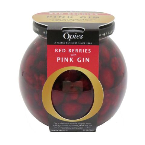 Opies Red Berries With Pink Gin 460g